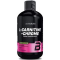 Biotech Liquid L-Carnitine + Chrome 500ml
