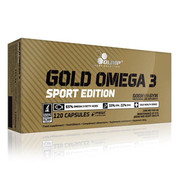 Olimp Gold Omega 3 Sport Edition 120 kaps