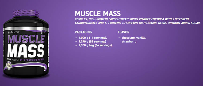 Biotech Muscle Mass