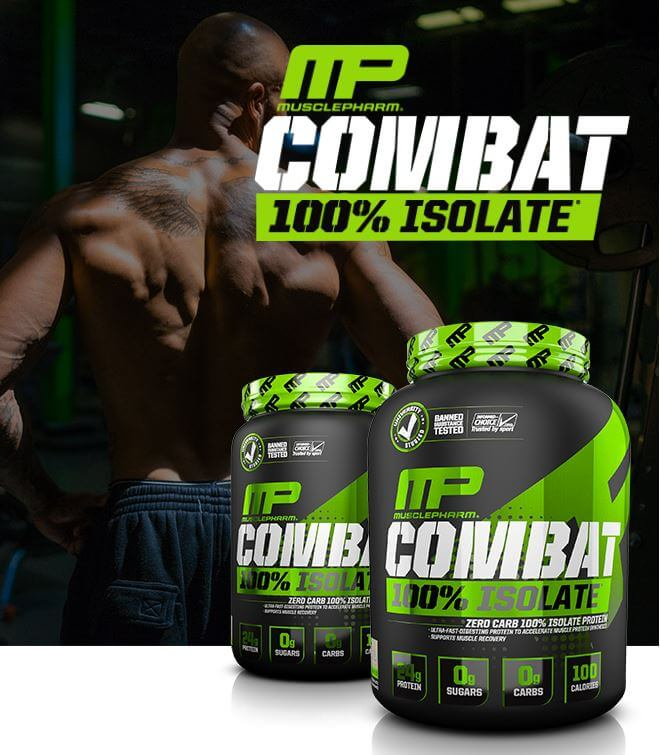 Musclepharm Combat Isolate skydelis