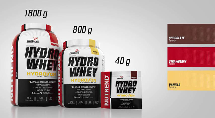 nutrend hydrowhey facts