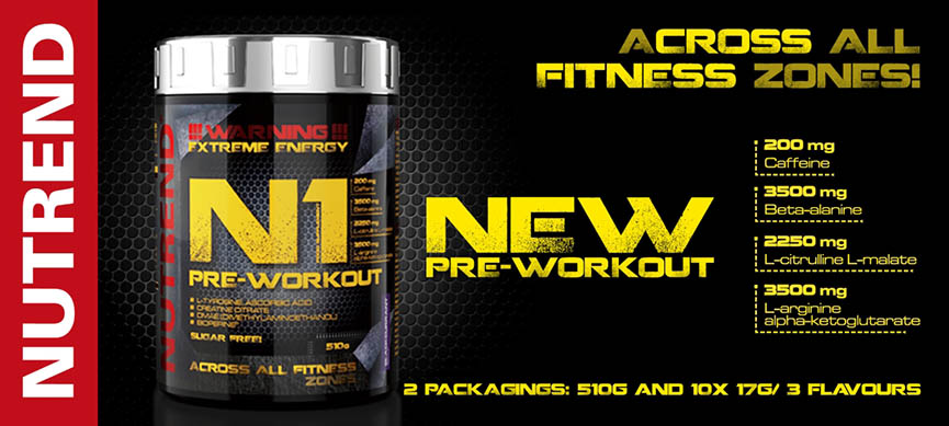 Nutrend N-1 Pre-Workout