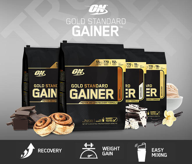 optimum gold standart gainer
