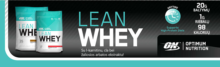 optimum lean whey banner